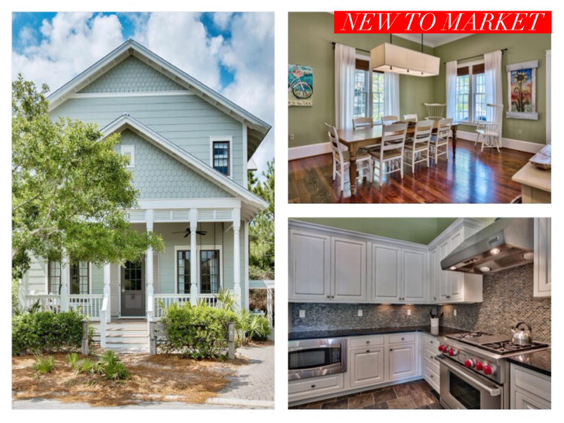 30a Homes Blog Watercolor Home For Sale