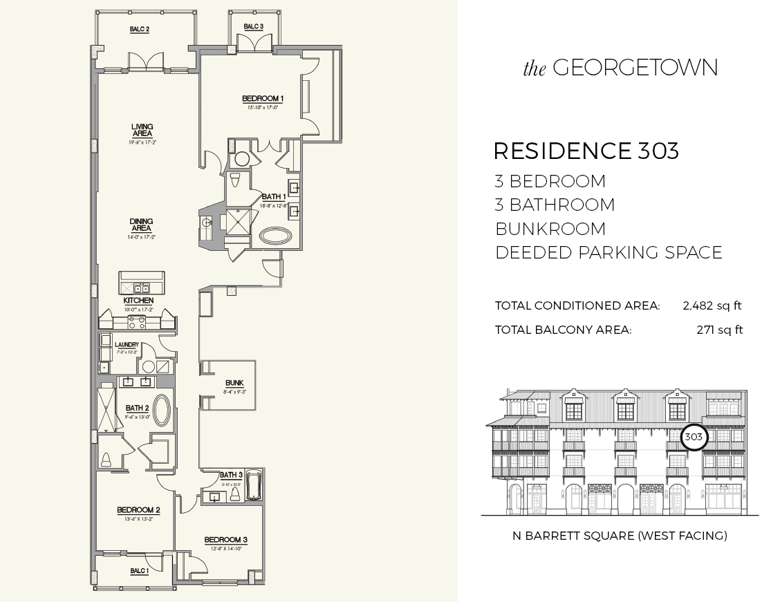 The Georgetown Luxury Condos Residence 303