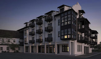 The Orleans Condos in Rosemary Beach